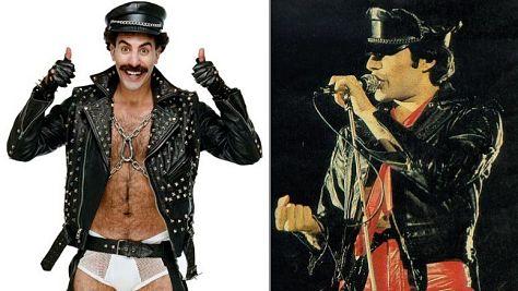 Borat as Freddie Mercury?
