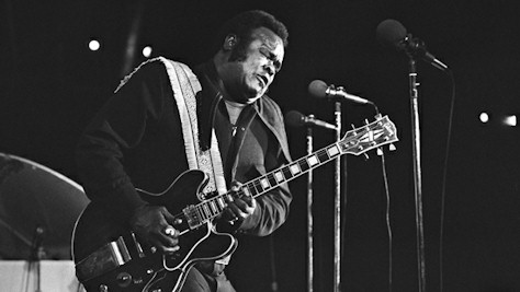 Freddie King inducted into the Rock Hall of Fame