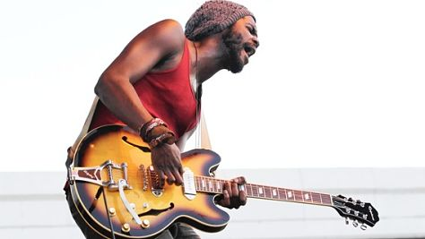 Rock: Gary Clark Jr. at Good Danny's, 2012
