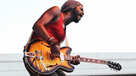 Rock: Gary Clark Jr.'s Searing Six-String Chops