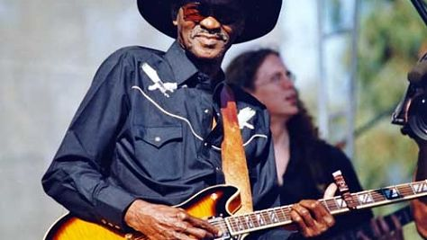 Blues: Gatemouth Brown at Tramps, '97