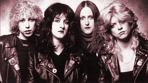 Rock: NEW: Girlschool at Paradise, '82