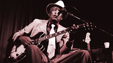 Blues: Video: John Lee Hooker at Newport, '91