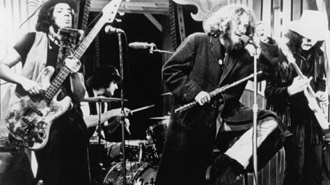 Jethro Tull at Tanglewood, 1970