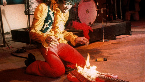Jimi's Pyrotechnic 'Wild Thing'
