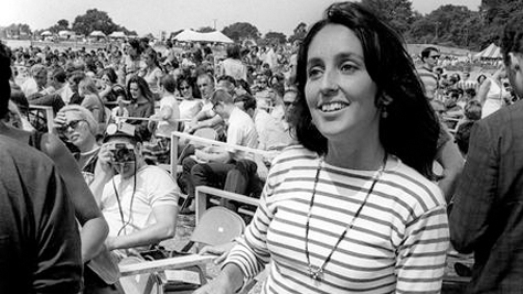 Joan Baez at the '68 Newport Folk Fest