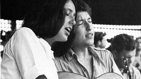 Folk & Bluegrass: Joan Baez & Bob Dylan Together