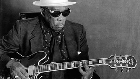 Blues: Video: John Lee Hooker Moans and Stings