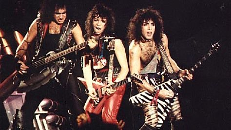Rock: Kiss' No Makeup Tour, '84