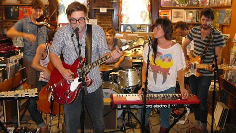 Video: Kopecky Family Band at Paste Offices