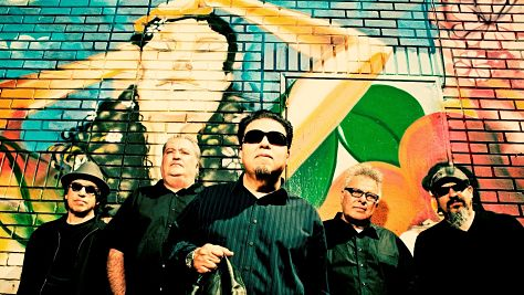 Los Lobos at Tramps, 1999