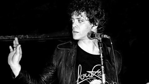Rock: Video: Lou Reed at the Ritz, '86
