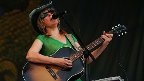 Folk & Bluegrass: Lucinda Williams at Tramps, '98