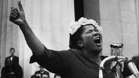 Mahalia Jackson in New Orleans, 1970