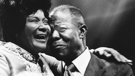 Jazz: Video: Mahalia Jackson's Tribute to Pops