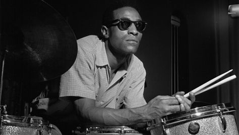 Max Roach Records His Drums Manifesto