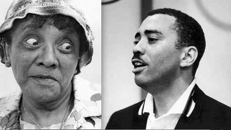 Jackie Moms Mabley & Oscar Brown Jr.