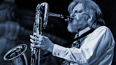 Jazz: Gerry Mulligan in Central Park, '73