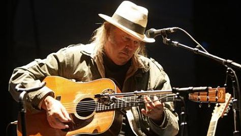 Folk & Bluegrass: A Solo Neil Young Playlist