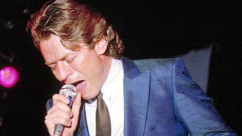 Rock: Robert Palmer Croons in Boston