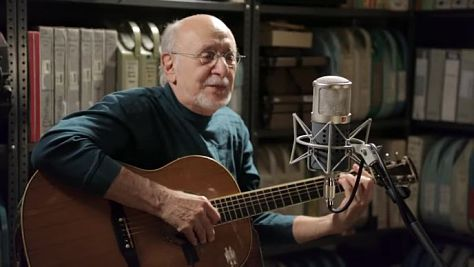 Video: Peter Yarrow at Paste Studios
