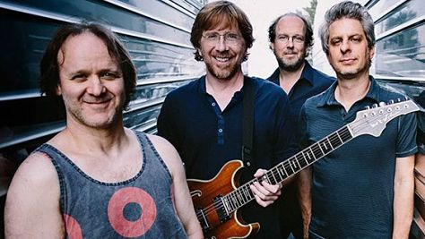 Rock: Phish at Shoreline Amphitheatre, '98