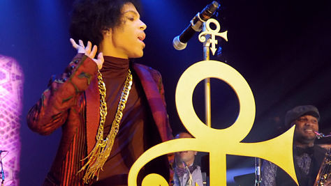 Prince at the DNA Lounge, '93
