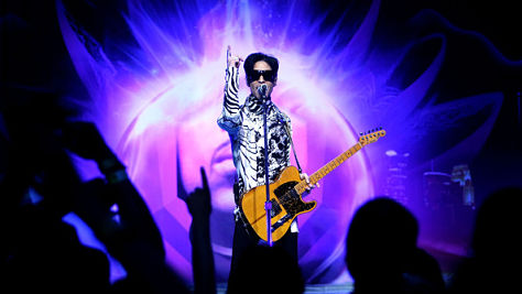 Prince Plays Straight Through The Night