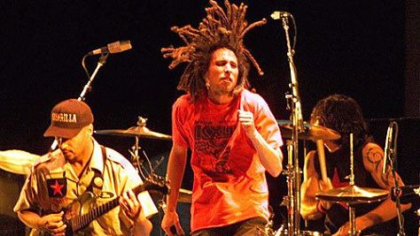 Rage Against the Machine at Woodstock