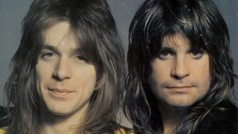 Ozzy Osbourne With Randy Rhoads