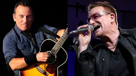 Bruce Springsteen Pinch-Hits For Bono