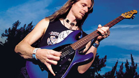 Rock: Steve Morse's Monster Chops On Display