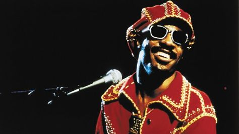 Stevie Wonder in the Motor City, '84
