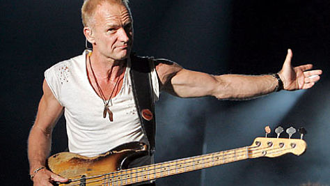 Rock: Sting in Past and Present Tense