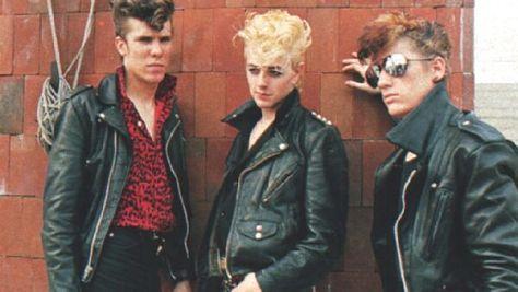 Brian Setzer With Stray Cats