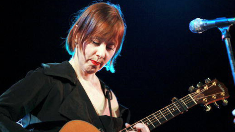 Folk & Bluegrass: Suzanne Vega at The Warfield in '87