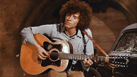 Tim Buckley at the '68 Newport Folk Fest