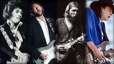 Top 10: Greatest Guitarists in the Vault