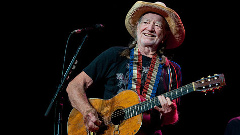 Willie Nelson at Tramps, '98