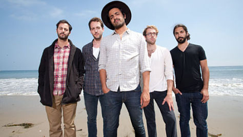 Young the Giant in Austin, 2010