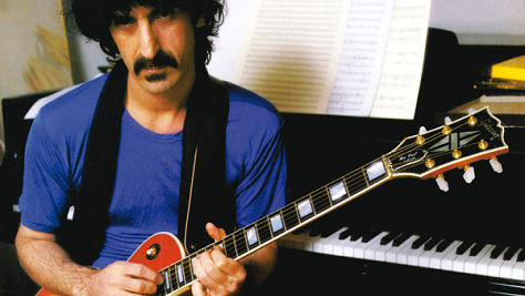 Rock: Frank Zappa Shuts Up 'N Plays His Guitar