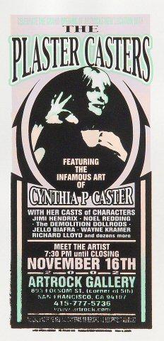 Cynthia Plaster Caster Handbill