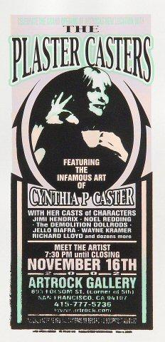 Cynthia Plaster Caster Handbill