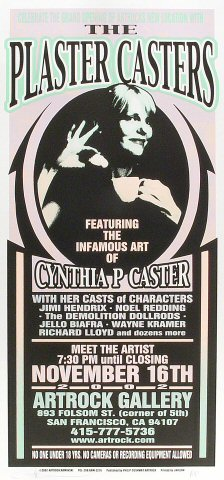 Cynthia Plaster Caster Poster