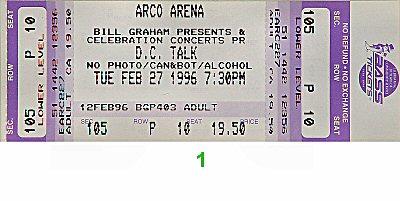 D.C. Talk1990s Ticket