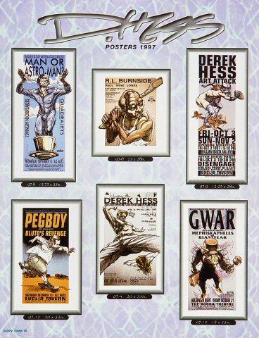 D. Hess Posters 1997Handbill