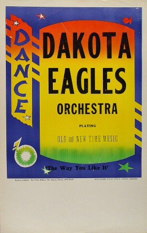 Dakota Eagles Orchestra Poster