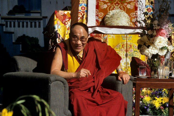 Dalai LamaBG Archives Print