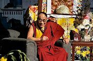Dalai Lama BG Archives Print