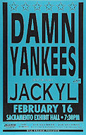 Damn Yankees Poster